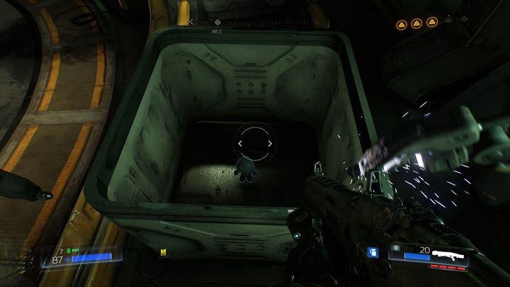 Inside there is another collectible - Foundry | Secrets - Secrets - Doom Game Guide & Walkthrough