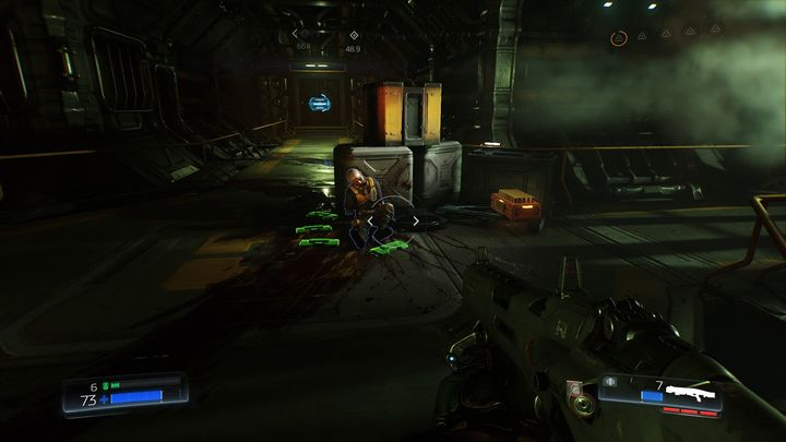 Go back to the large room with lava after the combat - Foundry | Walkthrough - Walkthrough - Doom Game Guide & Walkthrough