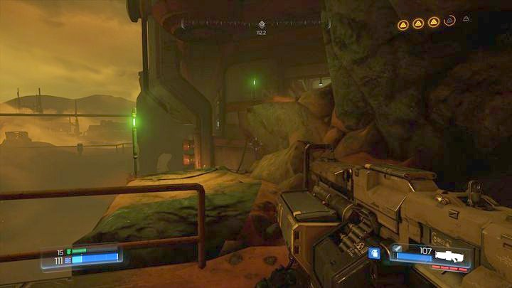 Further path leads to the very bottom - Argent Facility | Walkthrough - Walkthrough - Doom Game Guide & Walkthrough