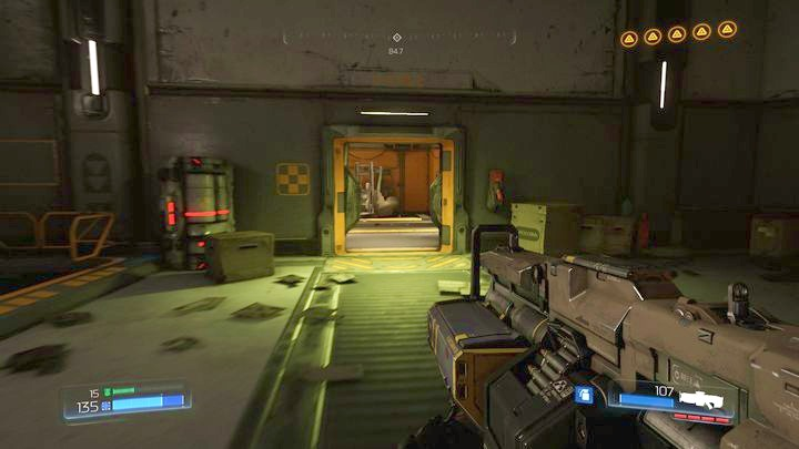 The last mission objective is to destroy the Argent processor - Argent Facility | Walkthrough - Walkthrough - Doom Game Guide & Walkthrough