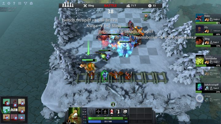 DOTA Auto Chess could be called a tower defense battle royale (with elements of poker) - Dota Auto Chess Guide