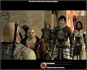 Head west and after a while you will come across the first group of Carta Thugs, led by Carta lieutenant (M19, 14) #1 - Last of His Line - Act I - Dragon Age II - Game Guide and Walkthrough
