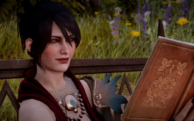 Morrigan at the holds garden - The Final Piece - Main storyline quests (The Path of the Inquisitor) - Dragon Age: Inquisition Game Guide & Walkthrough