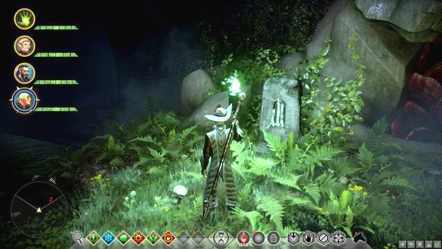 One of runes - Runes in the Lost Temple - Side quests - Lost Temple of Dirthamen - Dragon Age: Inquisition Game Guide & Walkthrough