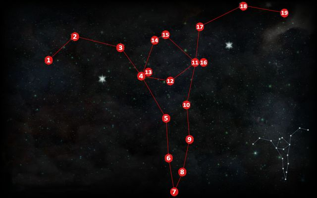 The second astrarium (M3,1b) is to the South of the farms, in the middle of the maps height - Astrariums and ocularums | The Hinterlands - The Hinterlands - Dragon Age: Inquisition Game Guide & Walkthrough