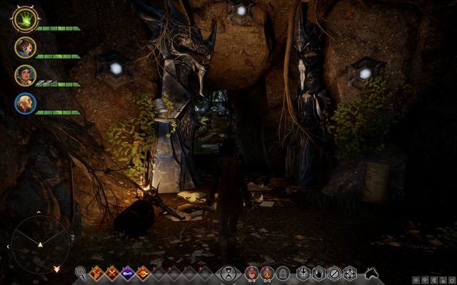 The cave entrance - Astrariums and ocularums | The Hinterlands - The Hinterlands - Dragon Age: Inquisition Game Guide & Walkthrough