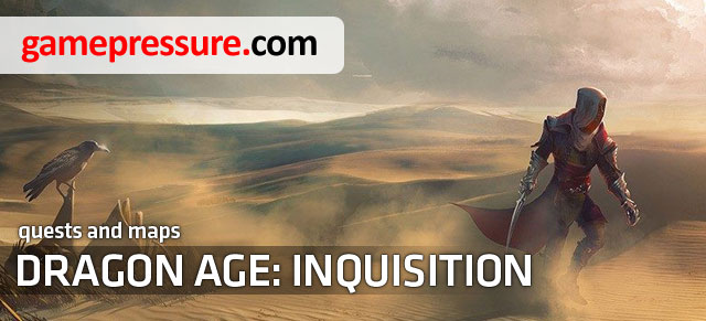 This walkthrough for Dragon Age: Inquisition offers a very detailed walkthrough for all the quests available in the game - Introduction | Dragon Age: Inquisition Walkthrough Guide - Walkthrough - Dragon Age: Inquisition Game Guide & Walkthrough