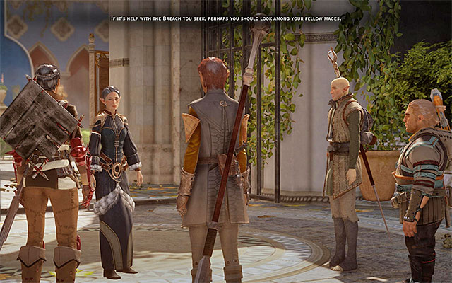 Your party also meets Fiona - The Threat Remains - Main storyline quests (The Path of the Inquisitor) - Dragon Age: Inquisition Game Guide & Walkthrough