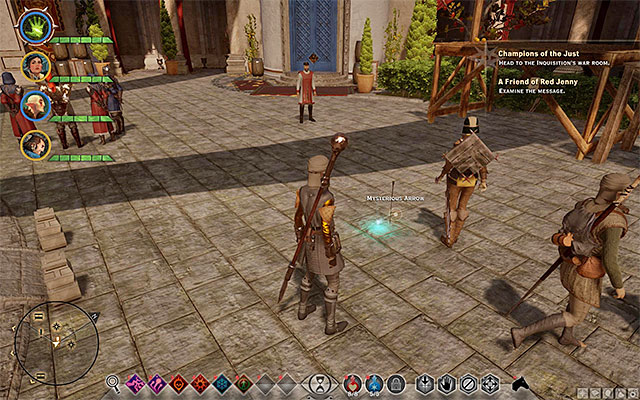 This quest becomes available during your stay in Val Royeaux, i - A Friend of Red Jenny - new party member - The Inner Circle (companion quests) - Dragon Age: Inquisition Game Guide & Walkthrough