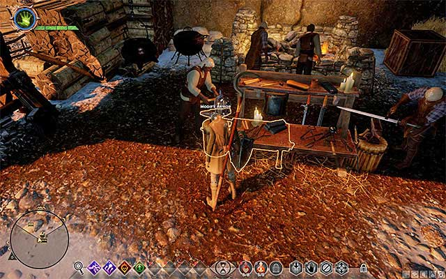 Armor modification station - Piece by Piece - Side quests - Haven - Dragon Age: Inquisition Game Guide & Walkthrough