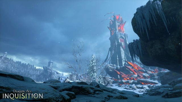 Emprise du Lion - an area located in the east of the Dales, on the mountainsides of the Frostback Mountains - Available locations | History of Dragon Age - History of Dragon Age - Dragon Age: Inquisition Game Guide & Walkthrough