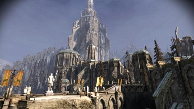 Ostagar, the place of the first battle with the darkspawn, during the Fifth Blight - Dragon Age: Origins storyline - History of Dragon Age - Dragon Age: Inquisition Game Guide & Walkthrough