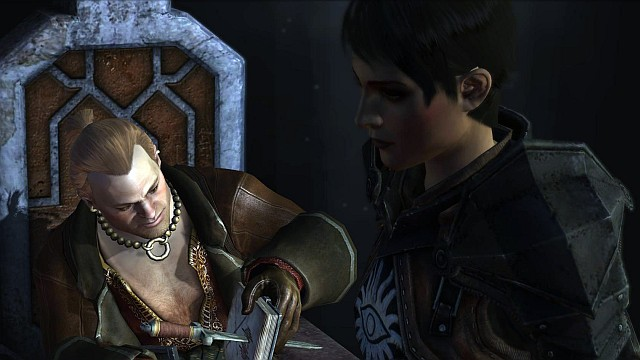 The interrogation of Varric, which is the base of the narration in Dragon Age II - Dragon Age II storyline - History of Dragon Age - Dragon Age: Inquisition Game Guide & Walkthrough