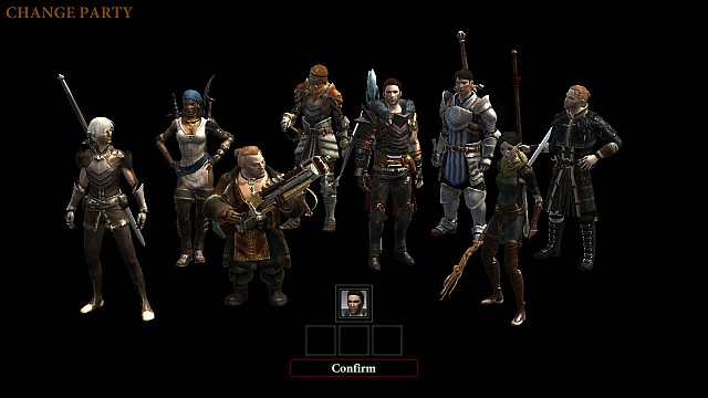 The Dragon Age II team (Hawke in the center and Carver to the right of him) - Dragon Age II storyline - History of Dragon Age - Dragon Age: Inquisition Game Guide & Walkthrough