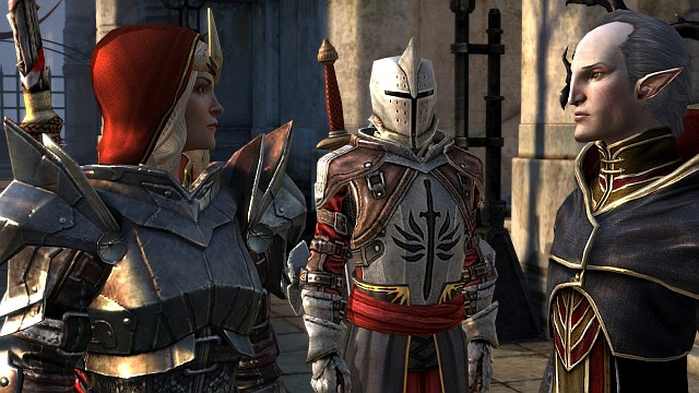 Meredith Stannard and First Enchanter Orsino - the conflict between them has started a global crisis, which we have to deal with in Dragon Age: Inquisition - Dragon Age II storyline - History of Dragon Age - Dragon Age: Inquisition Game Guide & Walkthrough
