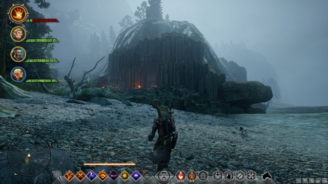 The cave to the South - Red Water - Side quests - The Storm Coast - Dragon Age: Inquisition Game Guide & Walkthrough