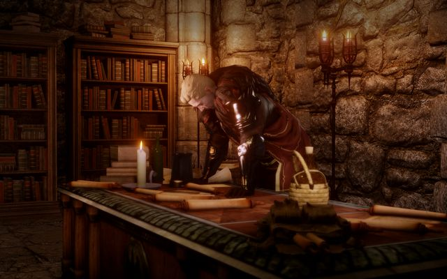 Cullen in his chambers - Before the Dawn - The Inner Circle (companion quests) - Dragon Age: Inquisition Game Guide & Walkthrough