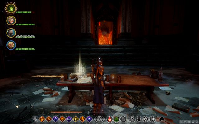 Letters on the table - Before the Dawn - The Inner Circle (companion quests) - Dragon Age: Inquisition Game Guide & Walkthrough