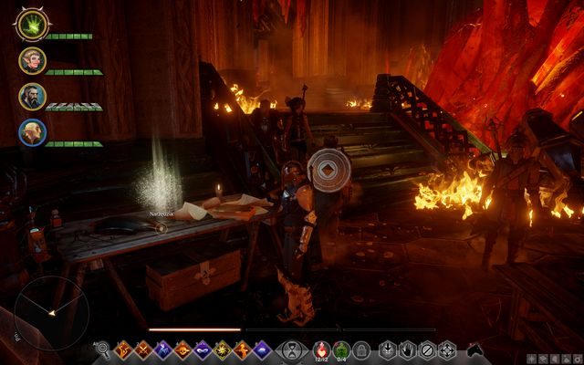 Tools on the bench near the stairs - Before the Dawn - The Inner Circle (companion quests) - Dragon Age: Inquisition Game Guide & Walkthrough