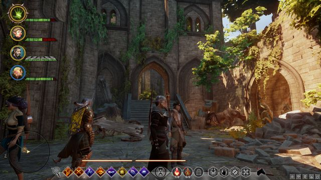 Dinah Hanin ruins - The Knights Tomb - Side Quests - Emerald Graves - Dragon Age: Inquisition Game Guide & Walkthrough