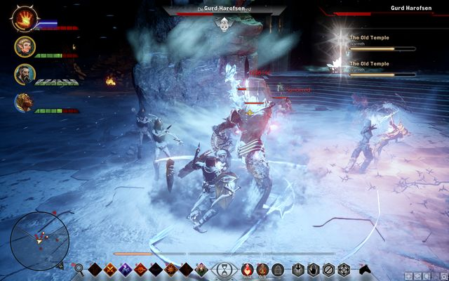 Strange names are quite frequent in this location. - Ameridans End - The Frostback Basin - Jaws of Hakkon DLC - Dragon Age: Inquisition Game Guide & Walkthrough