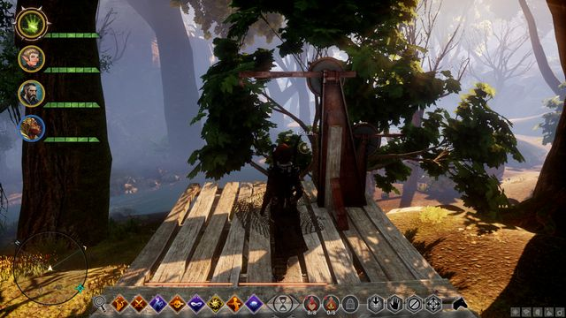 The lift makes it easier to get to the tree-camp. - Miscellaneous quests | The Frostback Basin - The Frostback Basin - Jaws of Hakkon DLC - Dragon Age: Inquisition Game Guide & Walkthrough