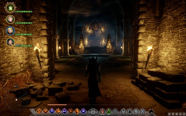 The chamber with the big door - Promise of Destruction - The Inner Circle (companion quests) - Dragon Age: Inquisition Game Guide & Walkthrough