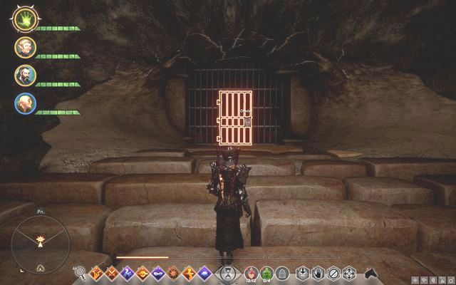 The door in the Paras Cavern - The Door in Paras Cavern - Side quests - The Forbidden Oasis - Dragon Age: Inquisition Game Guide & Walkthrough