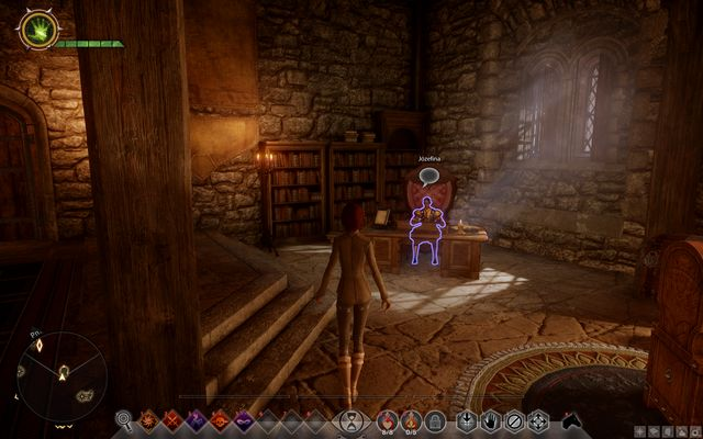 Josephine in her new house - From Ashes - Main storyline quests (The Path of the Inquisitor) - Dragon Age: Inquisition Game Guide & Walkthrough
