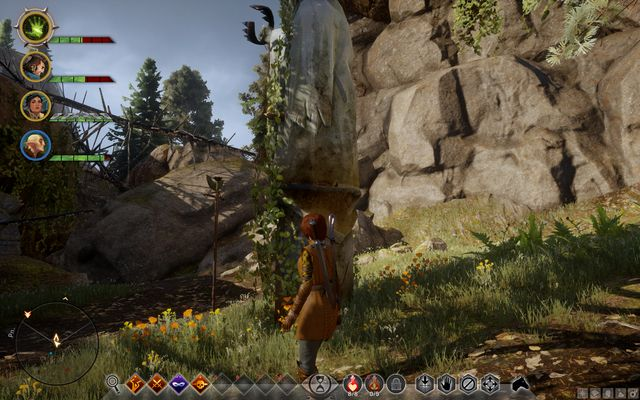 The statue - Playing with Fire - Side quests - The Hinterlands - Dragon Age: Inquisition Game Guide & Walkthrough