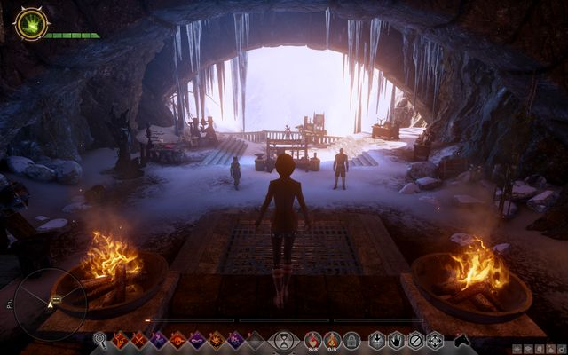 The casemates - this is where you find the blacksmith - Miscellaneous quests | Skyhold - Side Quests - Skyhold - Dragon Age: Inquisition Game Guide & Walkthrough
