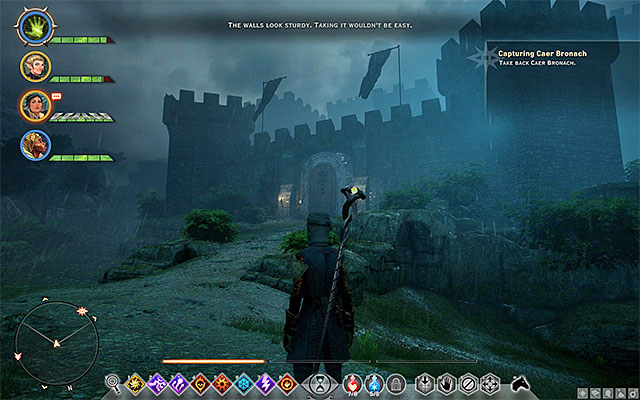 Caer Bronach - Capturing Caer Bronach - Side Quests - Crestwood - Dragon Age: Inquisition Game Guide & Walkthrough