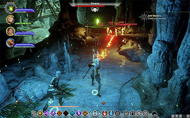 Kill monsters and descend into the caves - Still Waters - Side Quests - Crestwood - Dragon Age: Inquisition Game Guide & Walkthrough