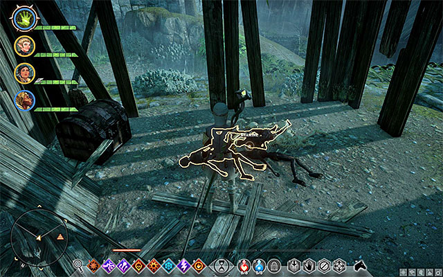 An example heap of corpses - Homecoming - Side Quests - Crestwood - Dragon Age: Inquisition Game Guide & Walkthrough