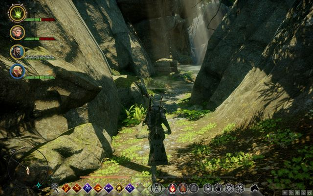 The passage to the refugee caves - Watchers Reach Refugees - Side Quests - Emerald Graves - Dragon Age: Inquisition Game Guide & Walkthrough