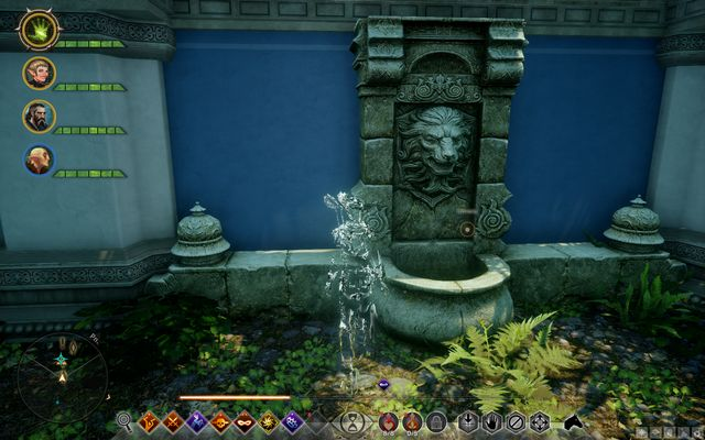The spot where you put the candle - Devotion - Side Quests - Emerald Graves - Dragon Age: Inquisition Game Guide & Walkthrough