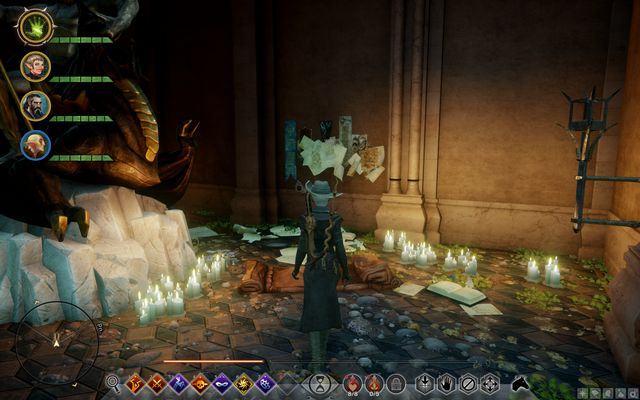 The notes on the wall - A Lovers Promise - Side Quests - Emerald Graves - Dragon Age: Inquisition Game Guide & Walkthrough