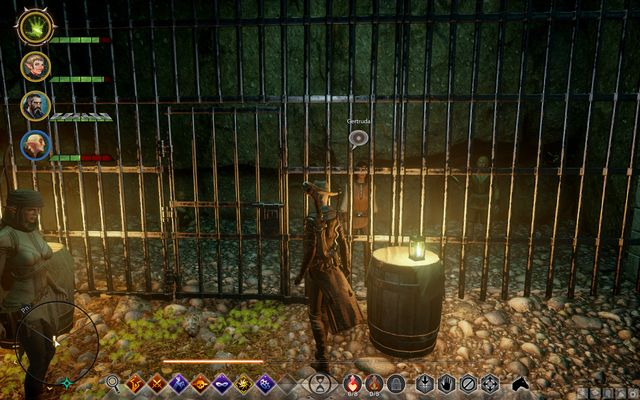 Prisoners behind bars - Not Everyones Free - Side Quests - Emerald Graves - Dragon Age: Inquisition Game Guide & Walkthrough