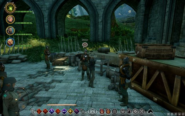 Johnson - Watch Out for the Bear - Side Quests - Emerald Graves - Dragon Age: Inquisition Game Guide & Walkthrough