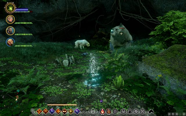 The dangerous bears - Watch Out for the Bear - Side Quests - Emerald Graves - Dragon Age: Inquisition Game Guide & Walkthrough