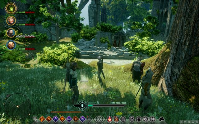 The treasure hidden near the tree - The Map of Elgarnan Keep - Side Quests - Emerald Graves - Dragon Age: Inquisition Game Guide & Walkthrough