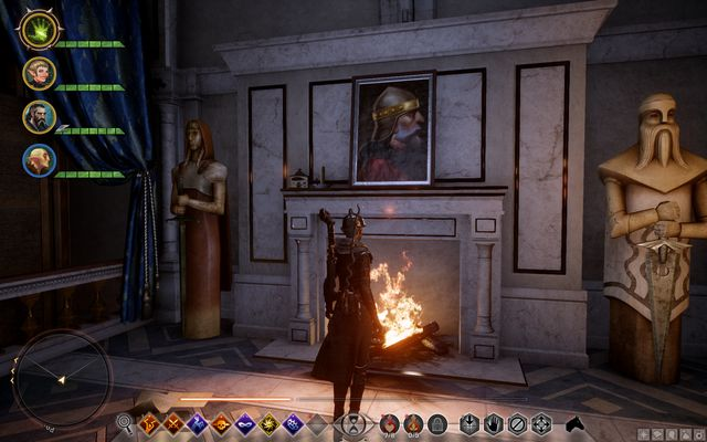 Another sketch is behind the painting in the bedroom on the upper floor (M21,1c) - Chateau dOnterre - Side Quests - Emerald Graves - Dragon Age: Inquisition Game Guide & Walkthrough