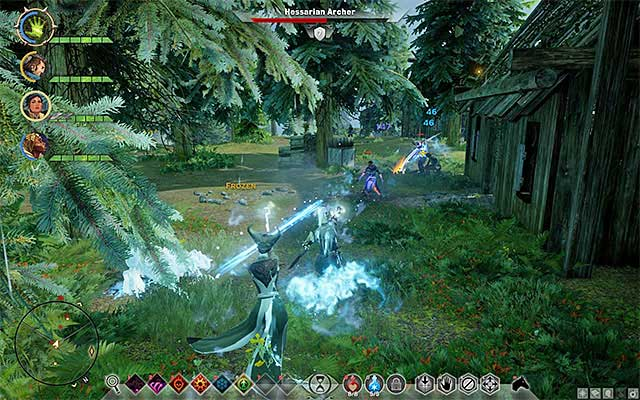Deal with the bandits and examine one of the nearby buildings - Cleaning House - Side quests - The Storm Coast - Dragon Age: Inquisition Game Guide & Walkthrough