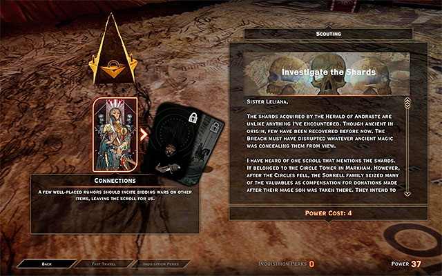 The operation connected with the Forbidden Oasis - Shard Collector - Side quests - The Forbidden Oasis - Dragon Age: Inquisition Game Guide & Walkthrough