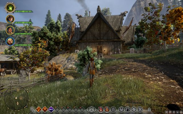 The cottage of Master Dennett - Master of Horses - Side quests - The Hinterlands - Dragon Age: Inquisition Game Guide & Walkthrough