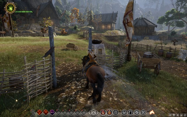 Pass through all of the checkpoints - In the Saddle - Side quests - The Hinterlands - Dragon Age: Inquisition Game Guide & Walkthrough