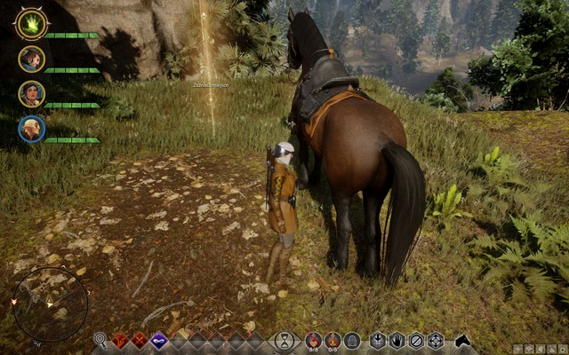 The spot to mark for a tower - Farmland Security - Side quests - The Hinterlands - Dragon Age: Inquisition Game Guide & Walkthrough