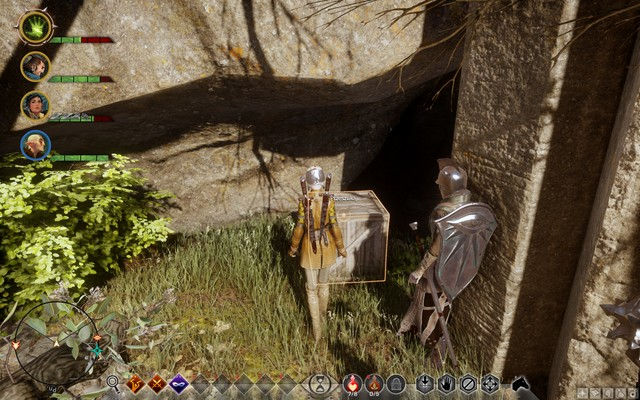 The crate in the cave - Safeguard Against Looters - Side quests - The Hinterlands - Dragon Age: Inquisition Game Guide & Walkthrough