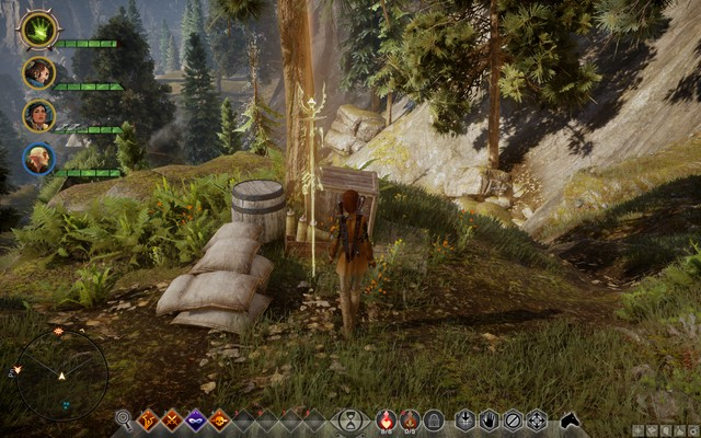 One of the supply storage points - In the Elements - Side quests - The Hinterlands - Dragon Age: Inquisition Game Guide & Walkthrough