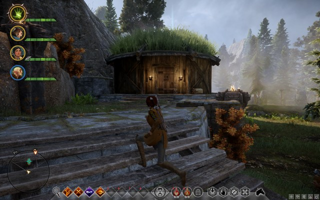 The cabin in the woods - Conscientious Objector - Side quests - The Hinterlands - Dragon Age: Inquisition Game Guide & Walkthrough